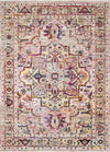 "Justina Blakeney Collection Silvia SIL-03 Natural / Multi-Area Rug-Loloi-2'-6"" x 4'-0""-The Rug Truck"