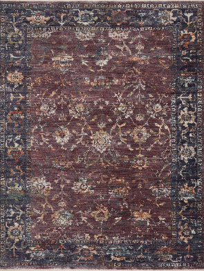 Loloi GIADA GIA-02 Grape / Multi Area Rug