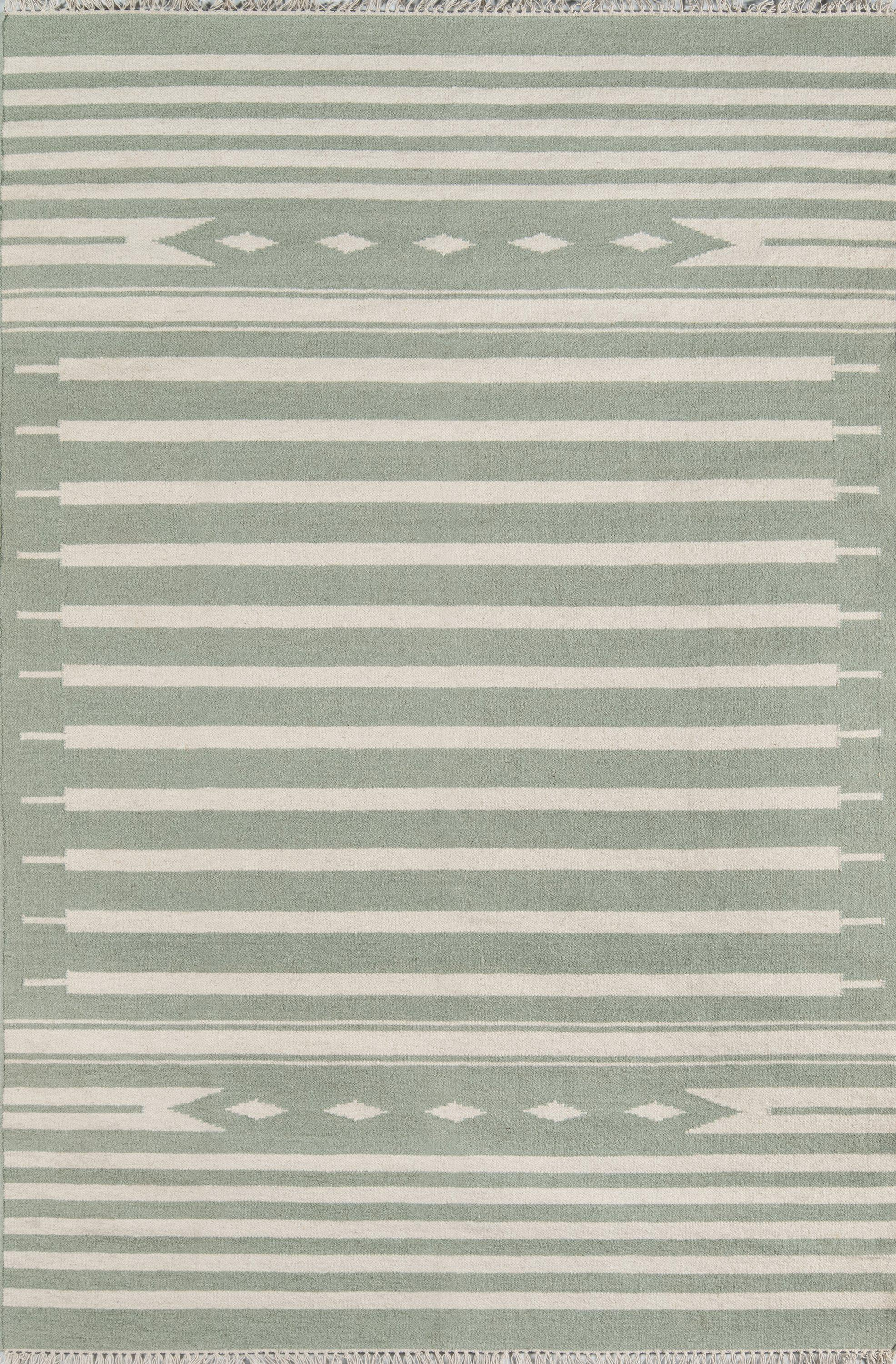 Erin Gates by Momeni Thompson THO-1 Billings Light Green Area Rug-Area Rug-Momeni-2' X 3'-The Rug Truck
