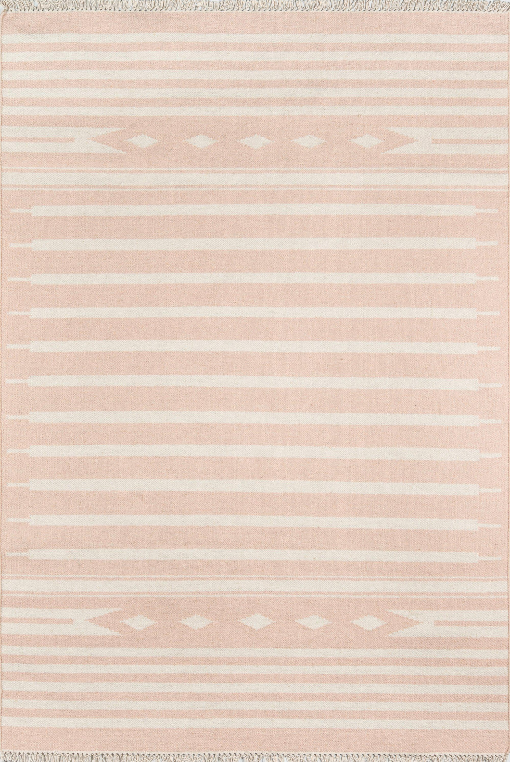 Erin Gates by Momeni Thompson THO-1 Billings Pink Area Rug-Area Rug-Momeni-2' X 3'-The Rug Truck