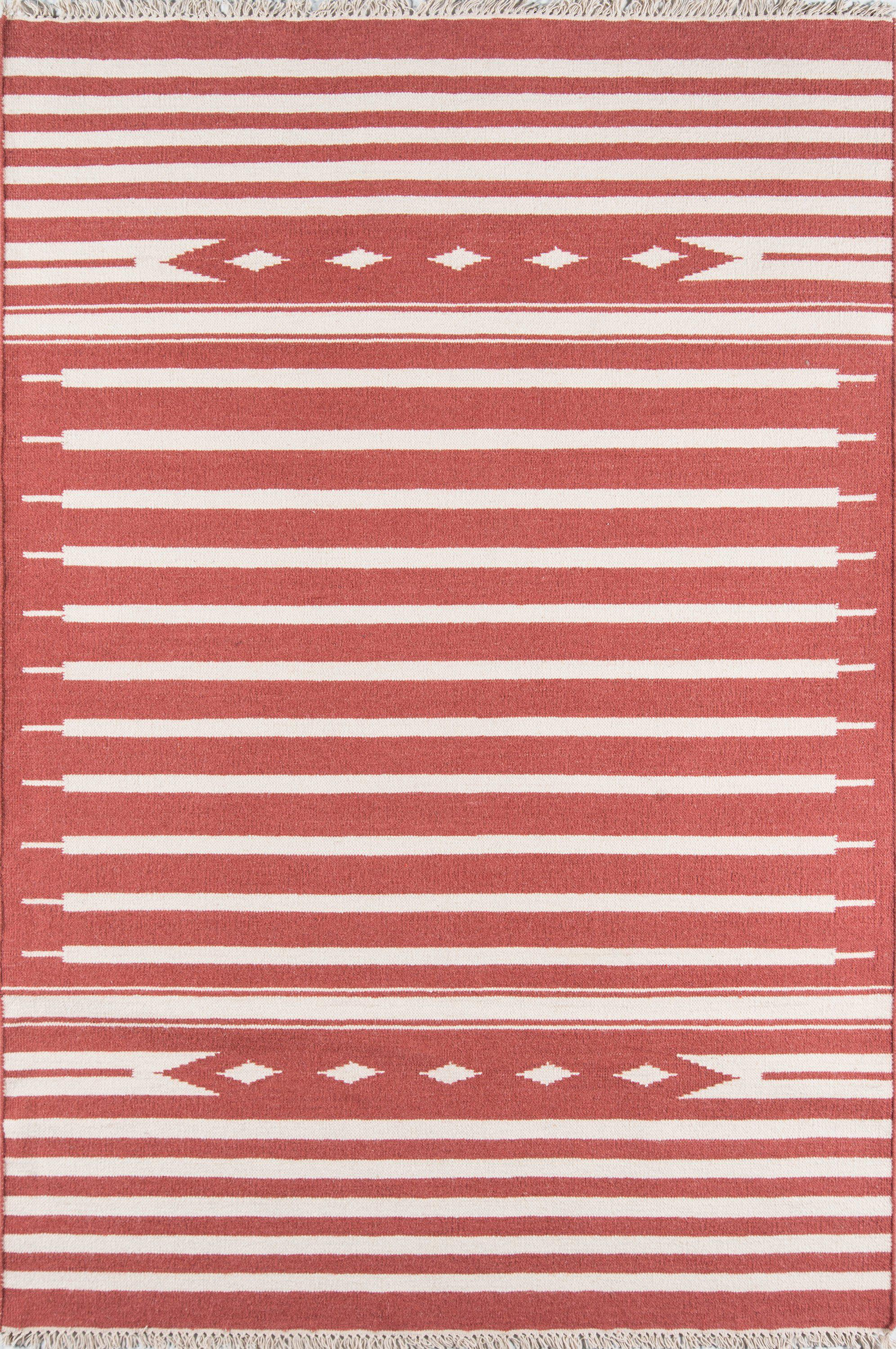 "Erin Gates Thompson THO-1 Billings Red Area Rug ( 7'6"" X 9'6"" )"