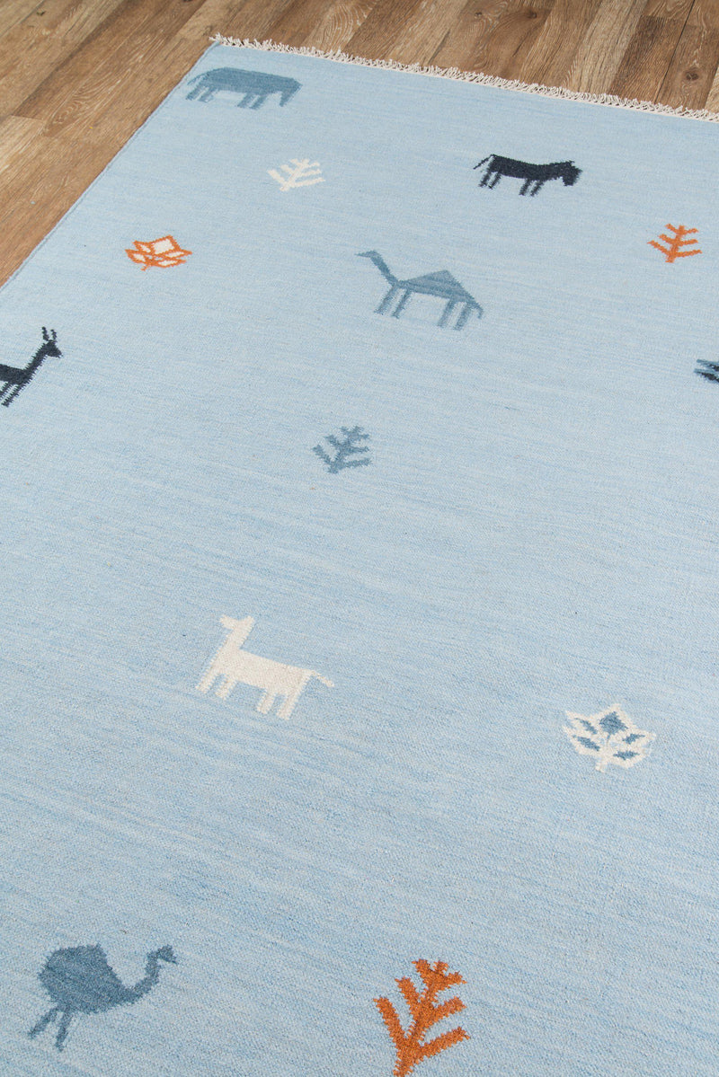 Erin Gates by Momeni Thompson THO-2 Porter Blue Area Rug-Area Rug-Momeni-2' X 3'-The Rug Truck