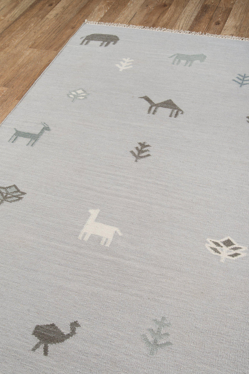 Erin Gates by Momeni Thompson THO-2 Porter Grey Area Rug-Area Rug-Momeni-2' X 3'-The Rug Truck