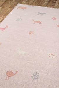 Erin Gates by Momeni Thompson THO-2 Porter Pink Area Rug-Area Rug-Momeni-The Rug Truck