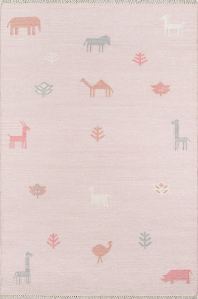 Erin Gates by Momeni Thompson THO-2 Porter Pink Area Rug-Area Rug-Momeni-2' X 3'-The Rug Truck