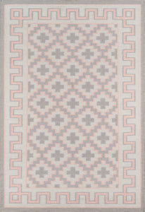 Erin Gates by Momeni Thompson THO-4 Brookline Pink Area Rug-Area Rug-Momeni-2' X 3'-The Rug Truck