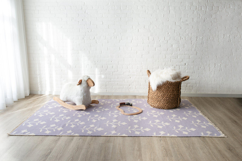 "Erin Gates Thompson THO-6 Grove Lilac Area Rug ( 7'6"" X 9'6"" )"