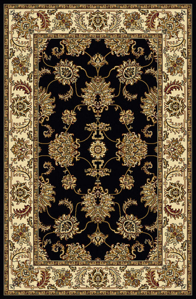 Tesoro 1330 Black Area Rug (2'2 X 8')