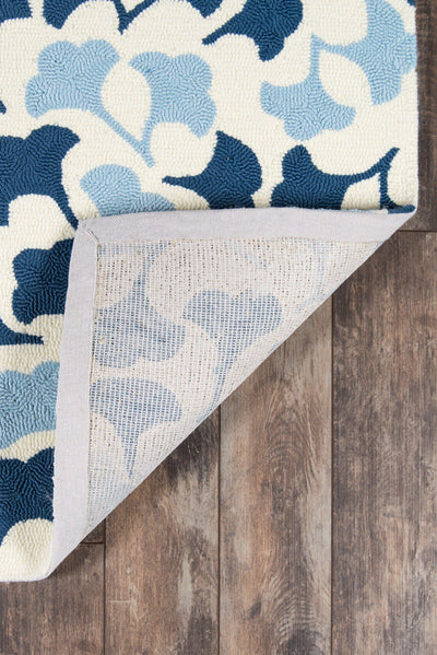 Madcap Cottage by Momeni Under A Loggia Howards End Blue Indoor/Outdoor Area Rug-Area Rug-Momeni-The Rug Truck