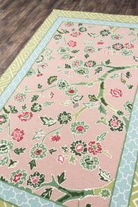 Madcap Cottage by Momeni Under A Loggia Blossom Dearie Multi Indoor/Outdoor Area Rug-Area Rug-Momeni-The Rug Truck