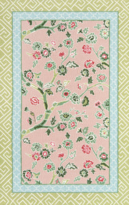 Madcap Cottage by Momeni Under A Loggia Blossom Dearie Multi Indoor/Outdoor Area Rug-Area Rug-Momeni-2' X 3'-The Rug Truck