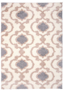 "Florida 2525 Cream Area Rug-Area Rug-World Rug Gallery-3'3"" x 5'-The Rug Truck"