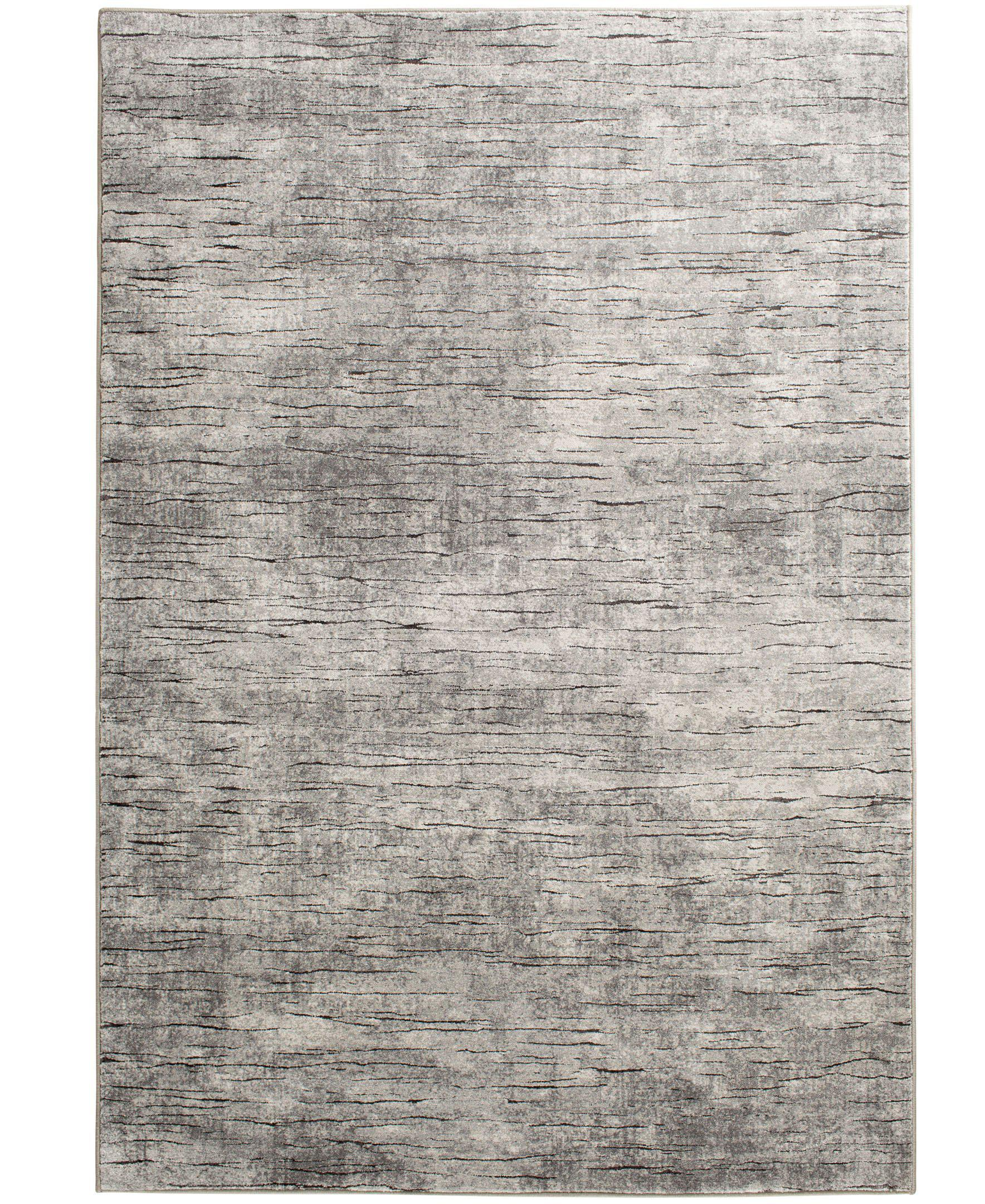 "Waterside - Dune - Grey-Area Rug-KM Home-3'3""x5'3""-The Rug Truck"