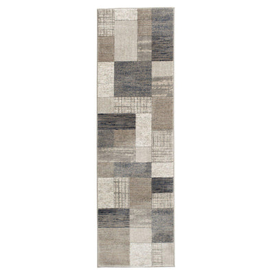 "Waterside - Pier - Multi-Area Rug-KM Home-2'3""x7'7""-The Rug Truck"