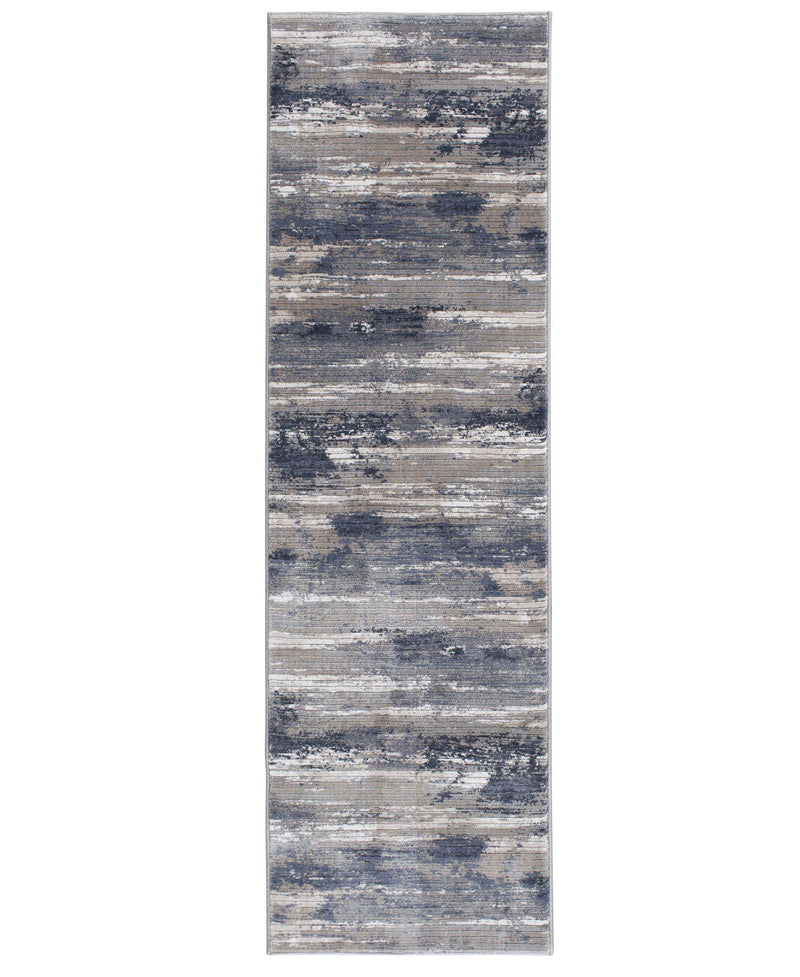 "Waterside - Tide - Morning Blue-Area Rug-KM Home-3'3""x5'3""-The Rug Truck"