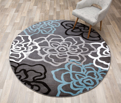 Alpine 108 Gray Area Rug-Area Rug-World Rug Gallery-The Rug Truck