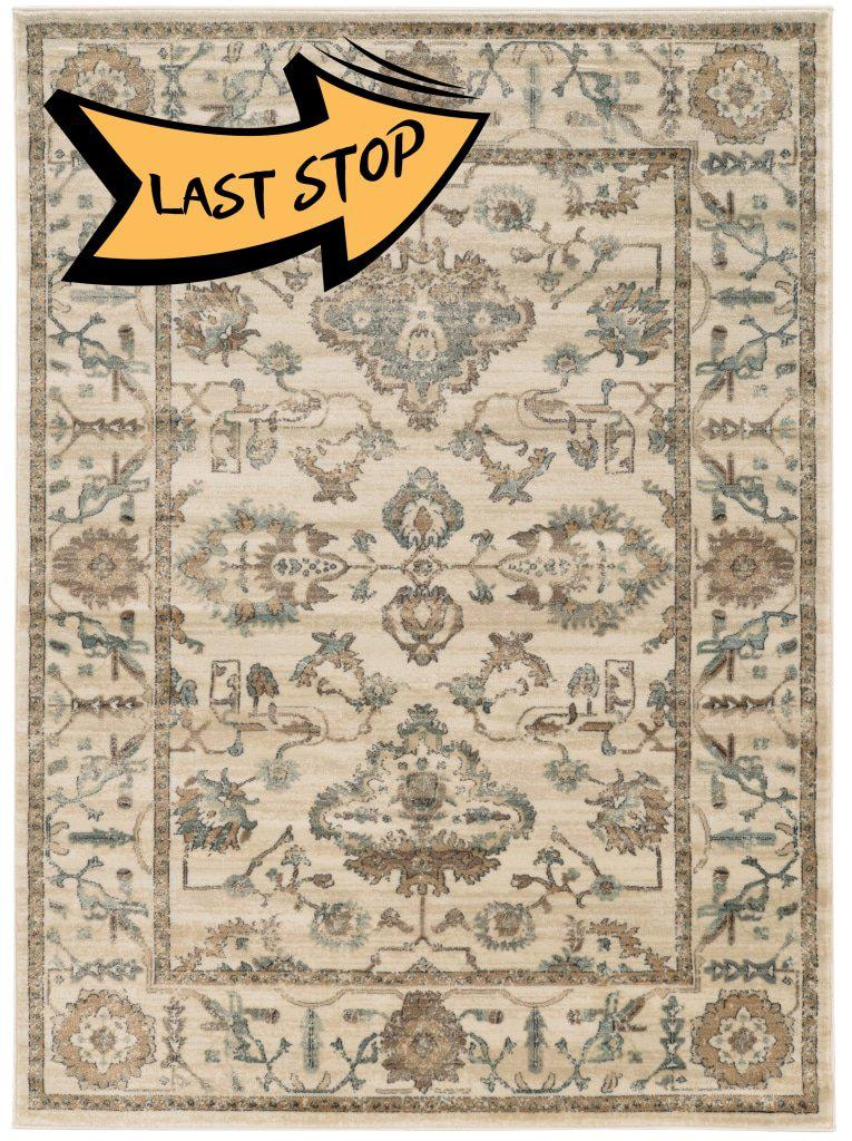 Allora 3562 Bone Area Rug 33 X 411