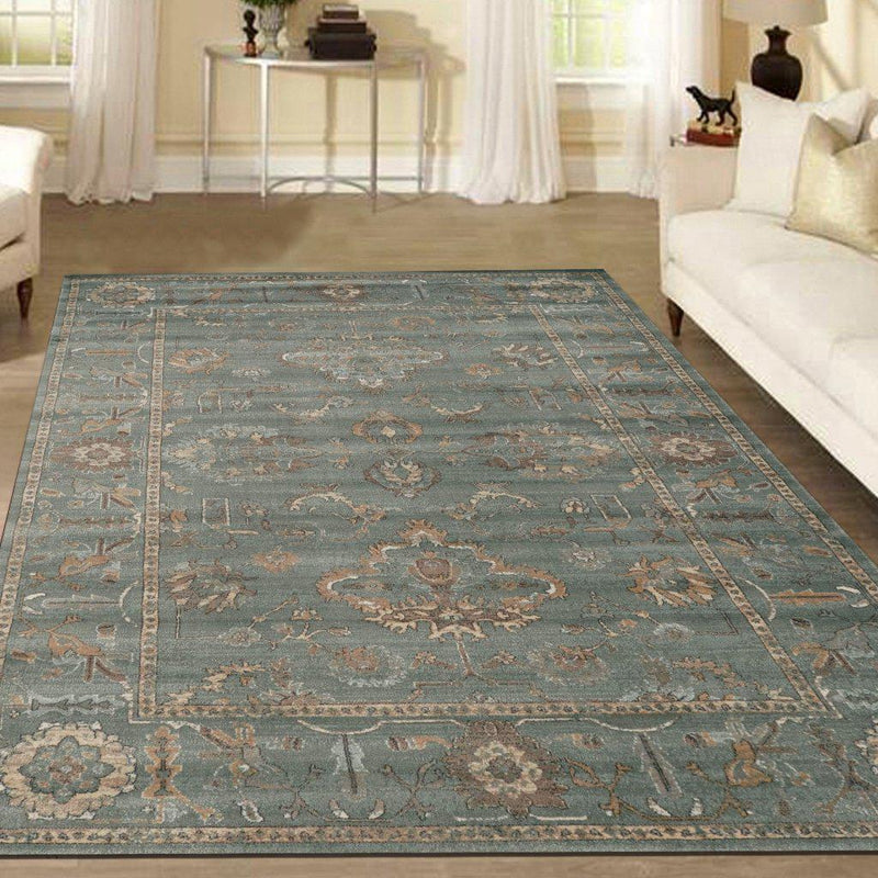 Allora 3562 Green Area Rug 33 X 411