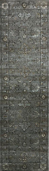 Allora 3562 Grey Area Rug 22 X 77