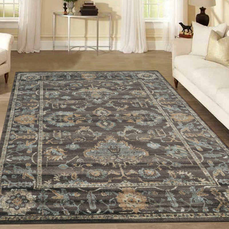 Allora 3562 Light Brown Area Rug 33 X 411
