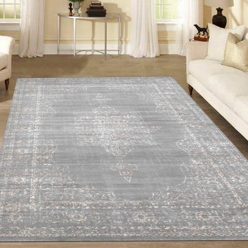 Allora 3563 Grey Area Rug 33 X 411