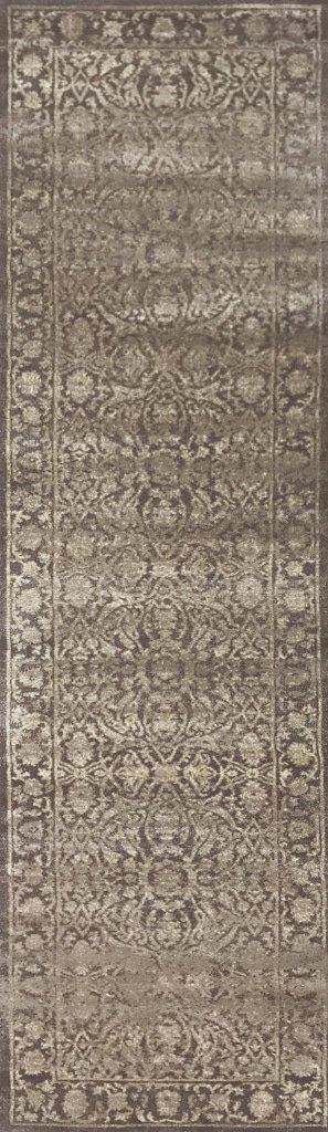 Allora 3564 Light Brown Area Rug 22 X 77