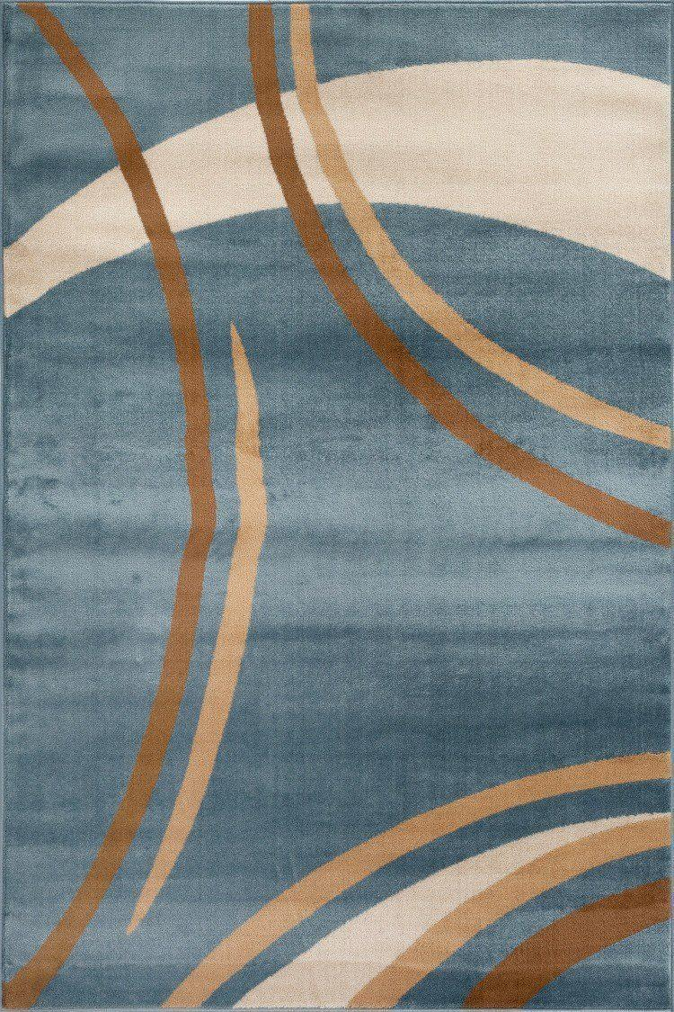 Alpine 107 Blue Area Rug-Area Rug-World Rug Gallery-2' x 3'-The Rug Truck