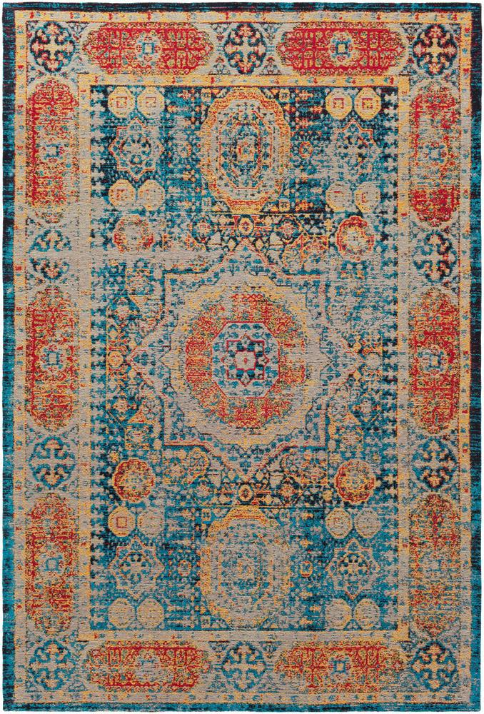 Amphora Bright Blue 8' x 10' Rug