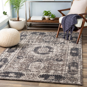 Amphora Dark Brown 8' x 10' Rug