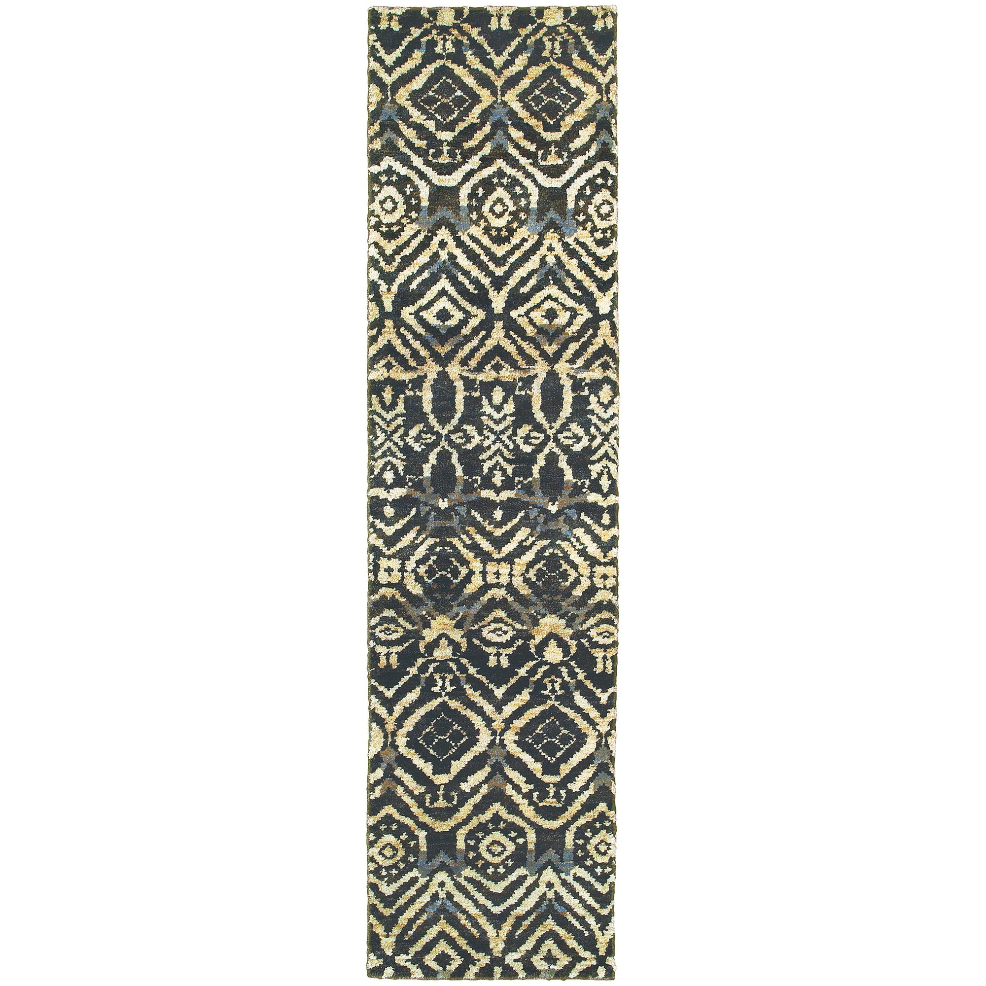 "Tommy Bahama Home Ansley 50904 Black/Beige-Area Rug-Tommy Bahama Home-3' 6"" X 5' 6""-The Rug Truck"