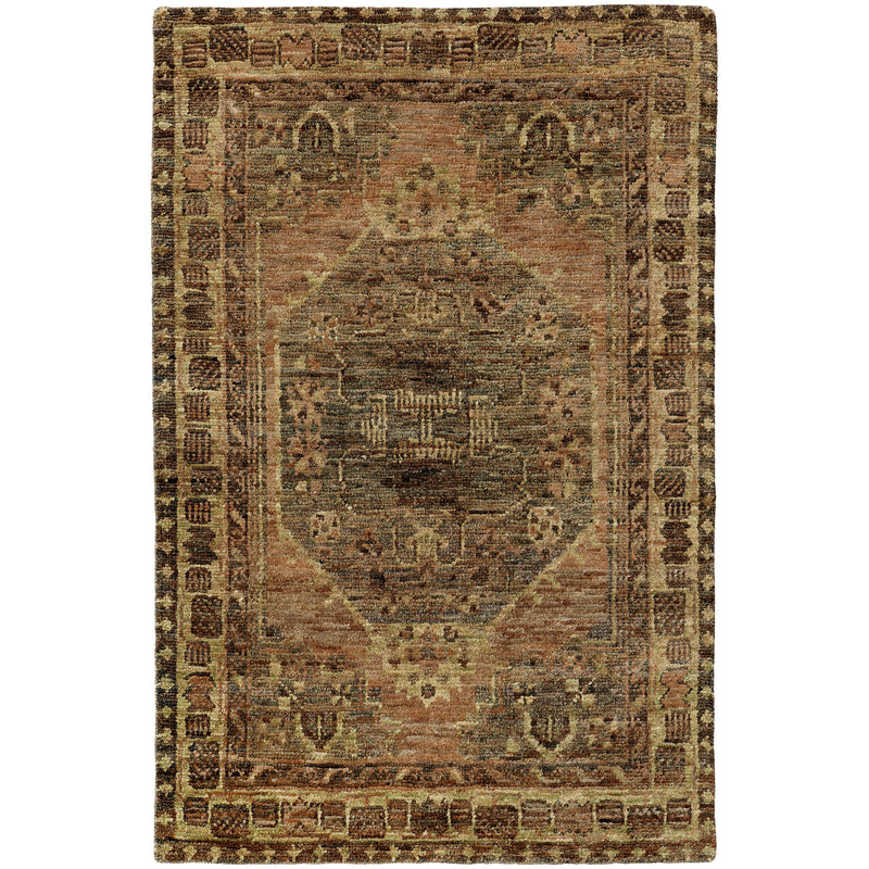 "Tommy Bahama Home Ansley 50911 Grey/Brown-Area Rug-Tommy Bahama Home-3' 6"" X 5' 6""-The Rug Truck"