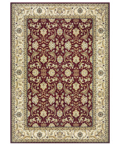 "Antiquity Persian Red/Ivory-Area Rugs-The Rug Truck-2' x 3'7""-The Rug Truck"
