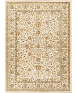 "Brighton Kashan Ivory-Area Rugs-The Rug Truck-3'11"" x 5'11'-The Rug Truck"