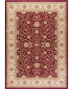 "Brighton Kashan Red-Area Rugs-The Rug Truck-3'11"" x 5'11'-The Rug Truck"