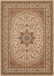 "Berkshire Ardebil Cream-Area Rugs-The Rug Truck-2' 7"" x 7' 10'-The Rug Truck"