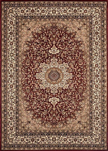 "Berkshire Ardebil Red-Area Rugs-The Rug Truck-2' 7"" x 7' 10'-The Rug Truck"