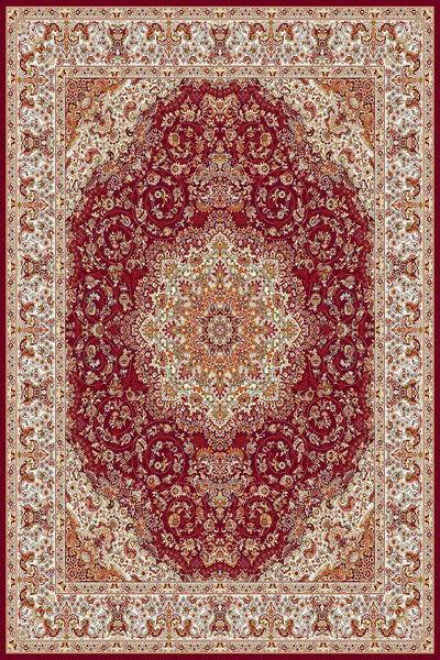 Persian Treasures - Shah - Red-Area Rugs-Kenneth Mink Home-2' x 3 '-The Rug Truck