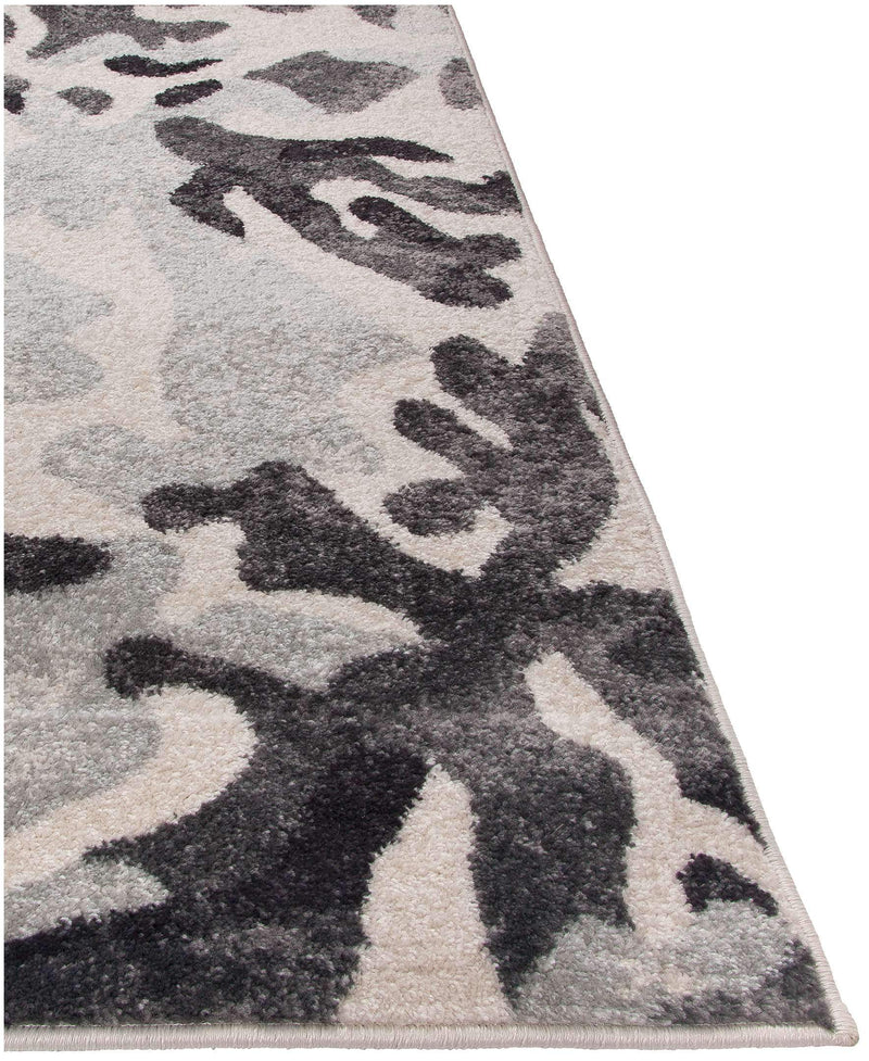 Steelo Bloom Silver-Area Rugs-Kenneth Mink Home-5' x 8'-The Rug Truck