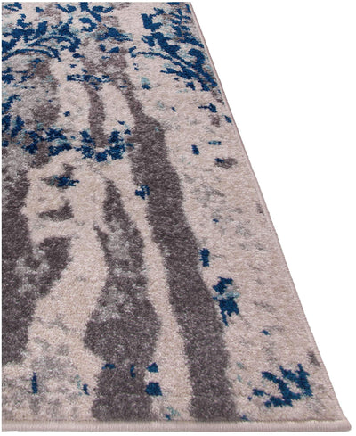 Steelo Cosmic Blue-Area Rugs-Kenneth Mink Home-The Rug Truck