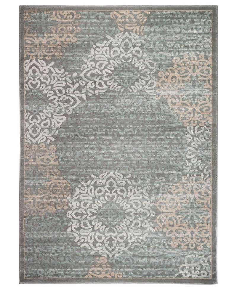 Teramo Intrigue Grey-Area Rugs-KM Home-The Rug Truck
