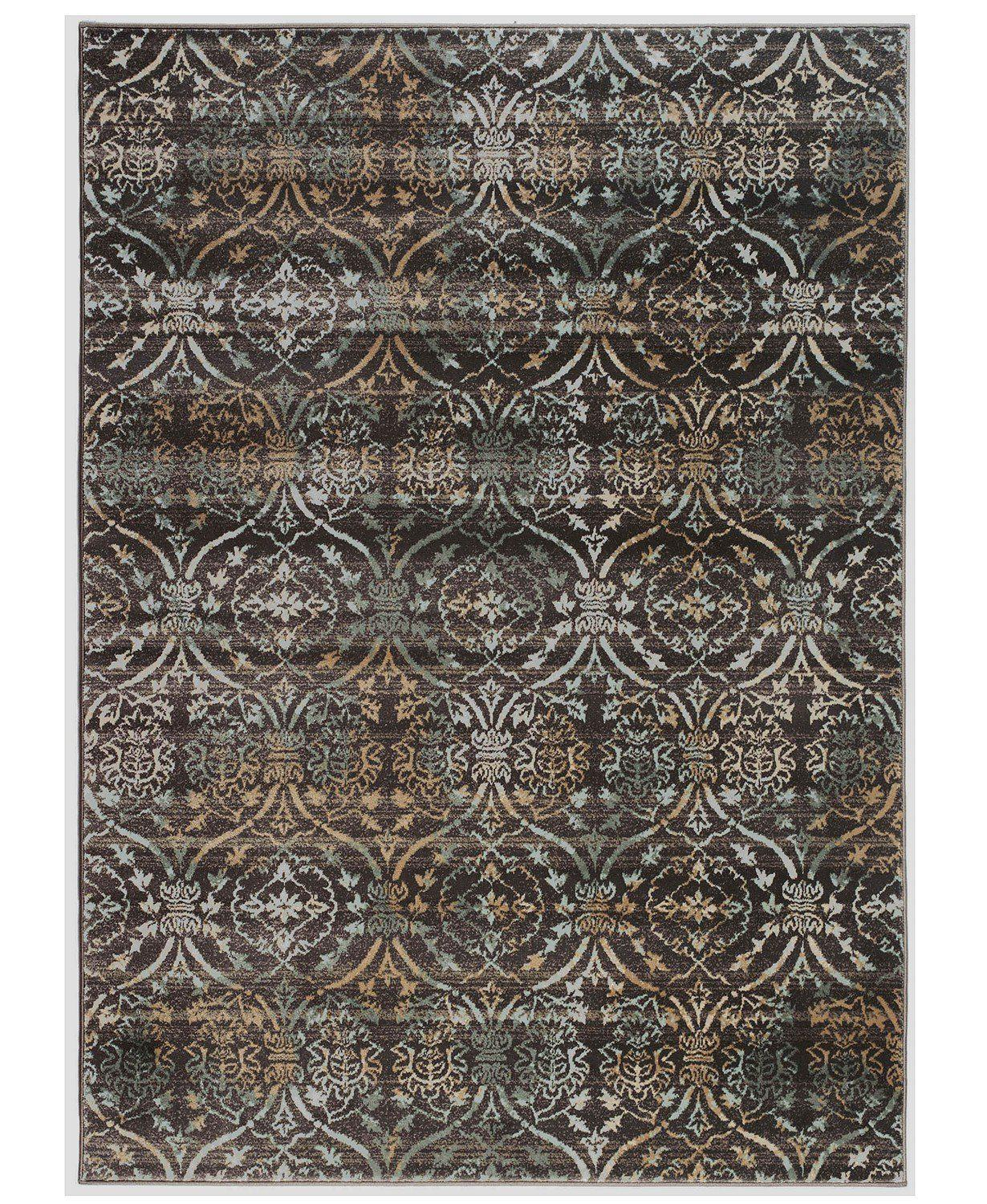 Teramo Mystic Brown-Area Rugs-KM Home-The Rug Truck