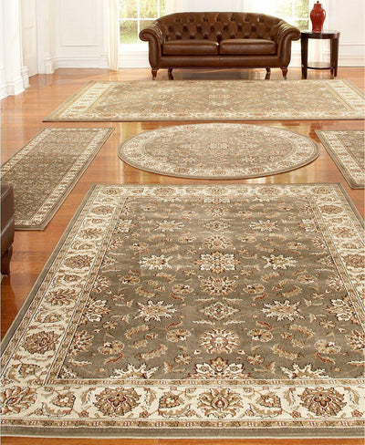Vienna Meshed Sage-Area Rugs-KM Home-5 Piece Set-The Rug Truck
