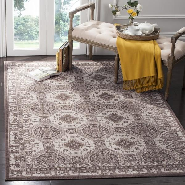 Safavieh Artisan 320 Brown / Ivory-Area Rug-Safavieh-The Rug Truck