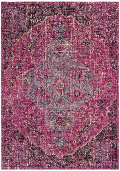 Safavieh Artisan 501 Fuchsia / Anthracite-Area Rug-Safavieh-The Rug Truck