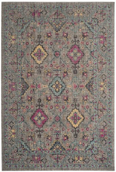 Safavieh Artisan 513 Light Grey / Light Blue-Area Rug-Safavieh-The Rug Truck