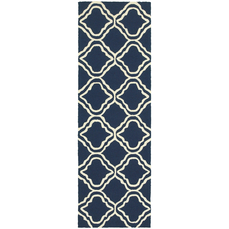 "Tommy Bahama Home Atrium 51111 Blue/Ivory-Area Rug-Tommy Bahama Home-3' 6"" X 5' 6""-The Rug Truck"