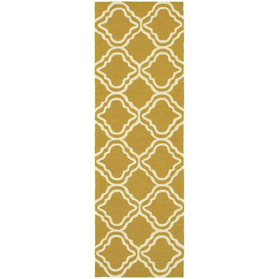 "Tommy Bahama Home Atrium 51112 Gold/Ivory-Area Rug-Tommy Bahama Home-2' 6"" X 8' 0""-The Rug Truck"
