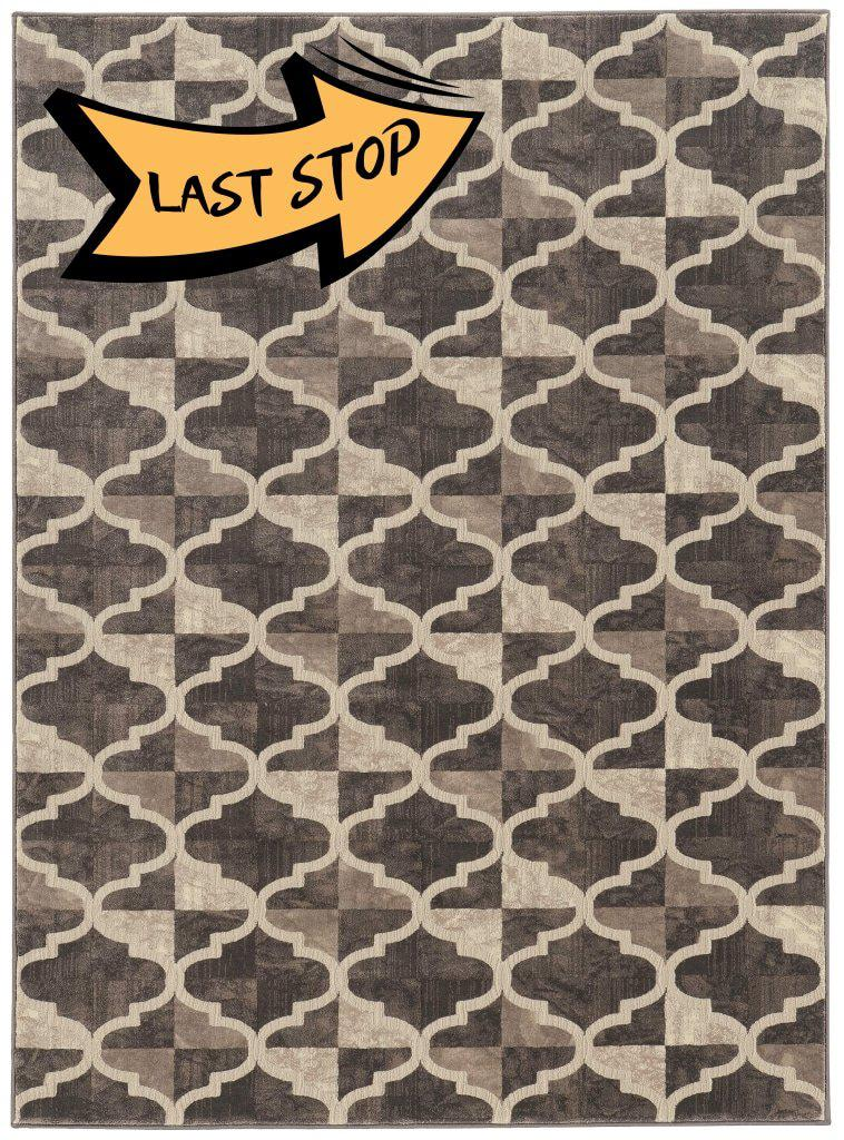 Auguri 3793 Brown Area Rug 33 X 411
