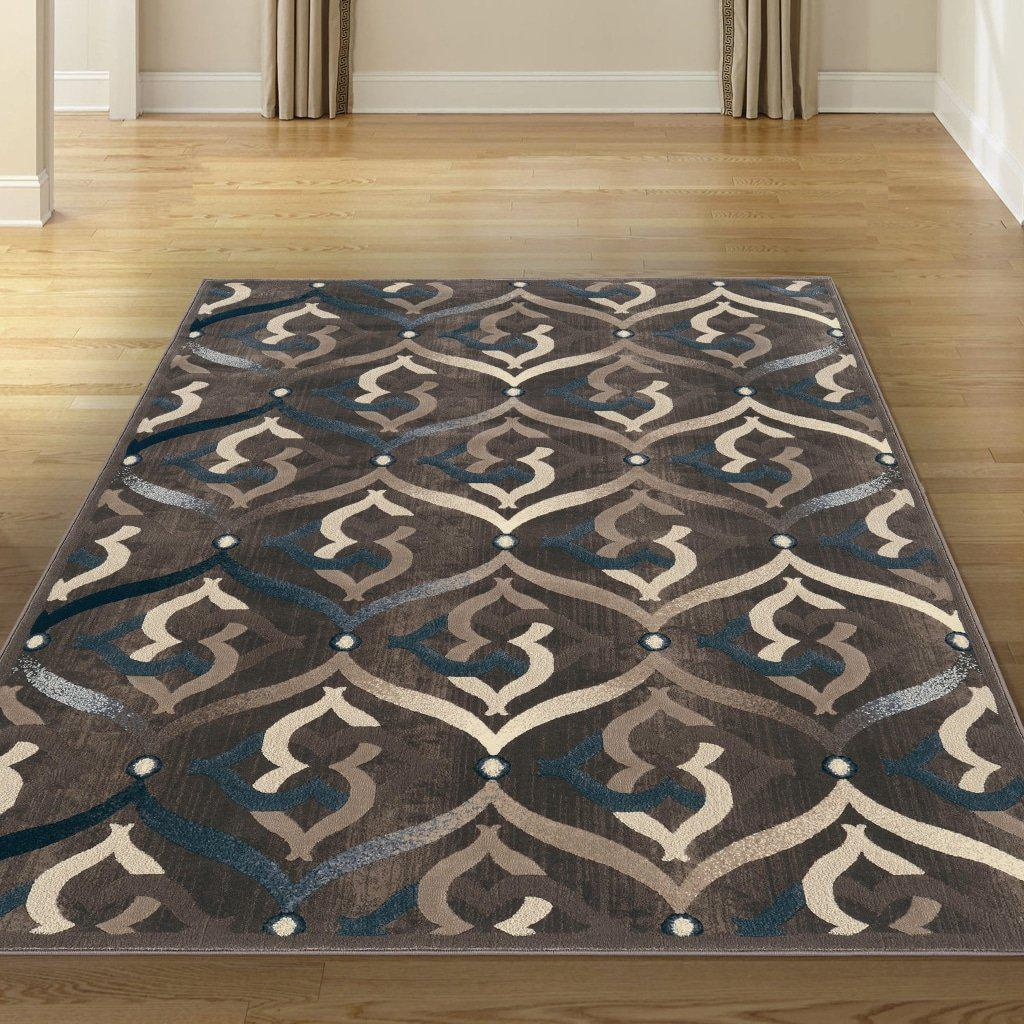 Auguri 3796 Brown Area Rug 33 X 411