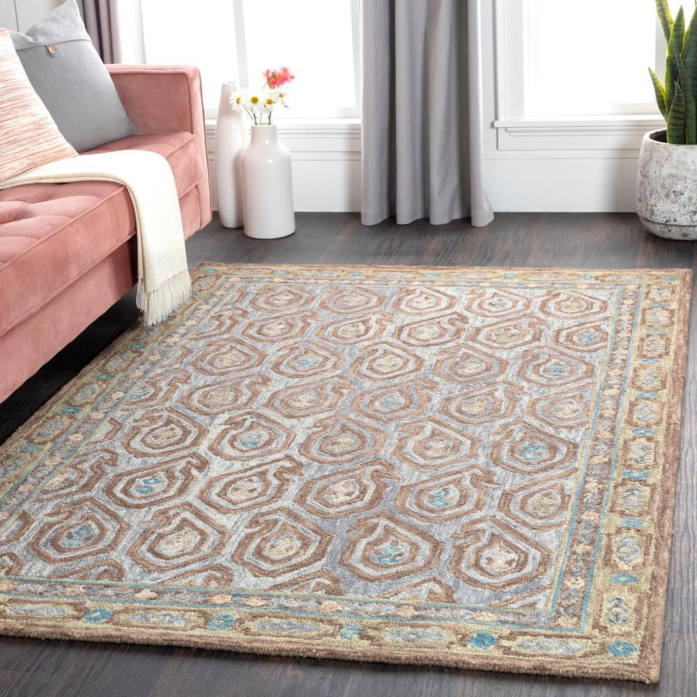 Bahia Medium Gray 8' x 10' Rug